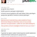 Plusbet21.com Paramı Vermiyorlar!
