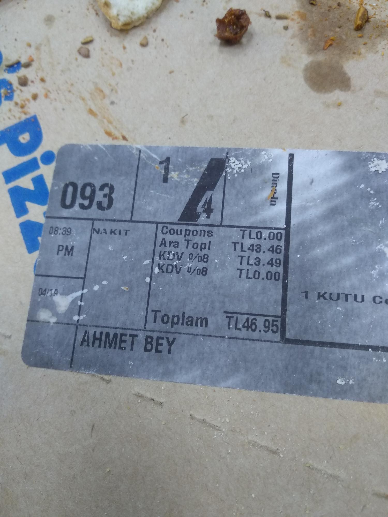 Dominos Pizza Konya şikayetleri şikayetvar