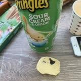 Pringles'tan Çıkan Madde