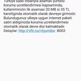 Vodafone Yunanistan Sinyaline Bağlanması