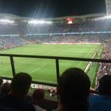 Trabzonspor Akyazı Spor Kompleksi Tribünde Yapılan Platform