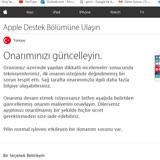 İPhone Türkiye Teknik ServisSorunu