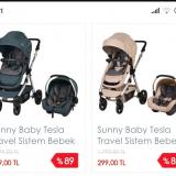Baby Mall Sunny Baby Tesla Travel Sistem Bebek Arabası Şikayeti