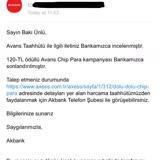 Akbank Chip Para Kampanyasına Dahil Edilmiyorum