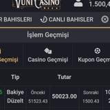Vuni Casino Ödeme Yapmıyorlar!
