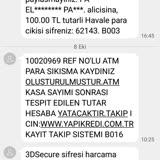 Yapı Kredi ATM'de Sıkışan Para