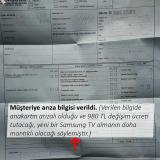 Samsung Teknik Servis Ayıplı Hizmet