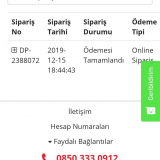 İstanbul Bilişim Para İadesi Alamadım