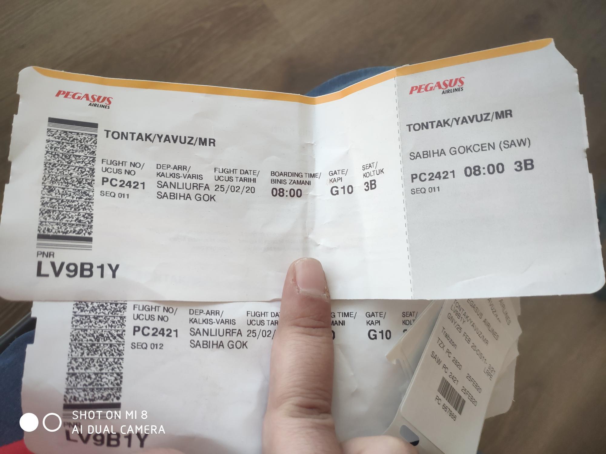 Pegasus Koltuk Numarasi Ve Trabzon Sikayetleri Sikayetvar