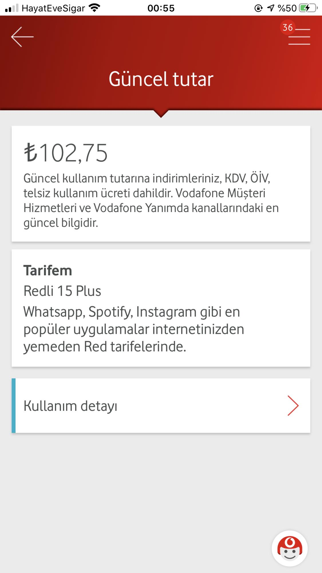 Vodafone Red Plus Tarife