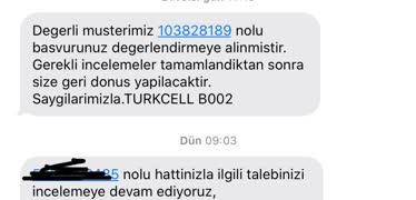 Turkcell'de Hat Taşıma Talep İptali Oyalaması! - Şikayetvar
