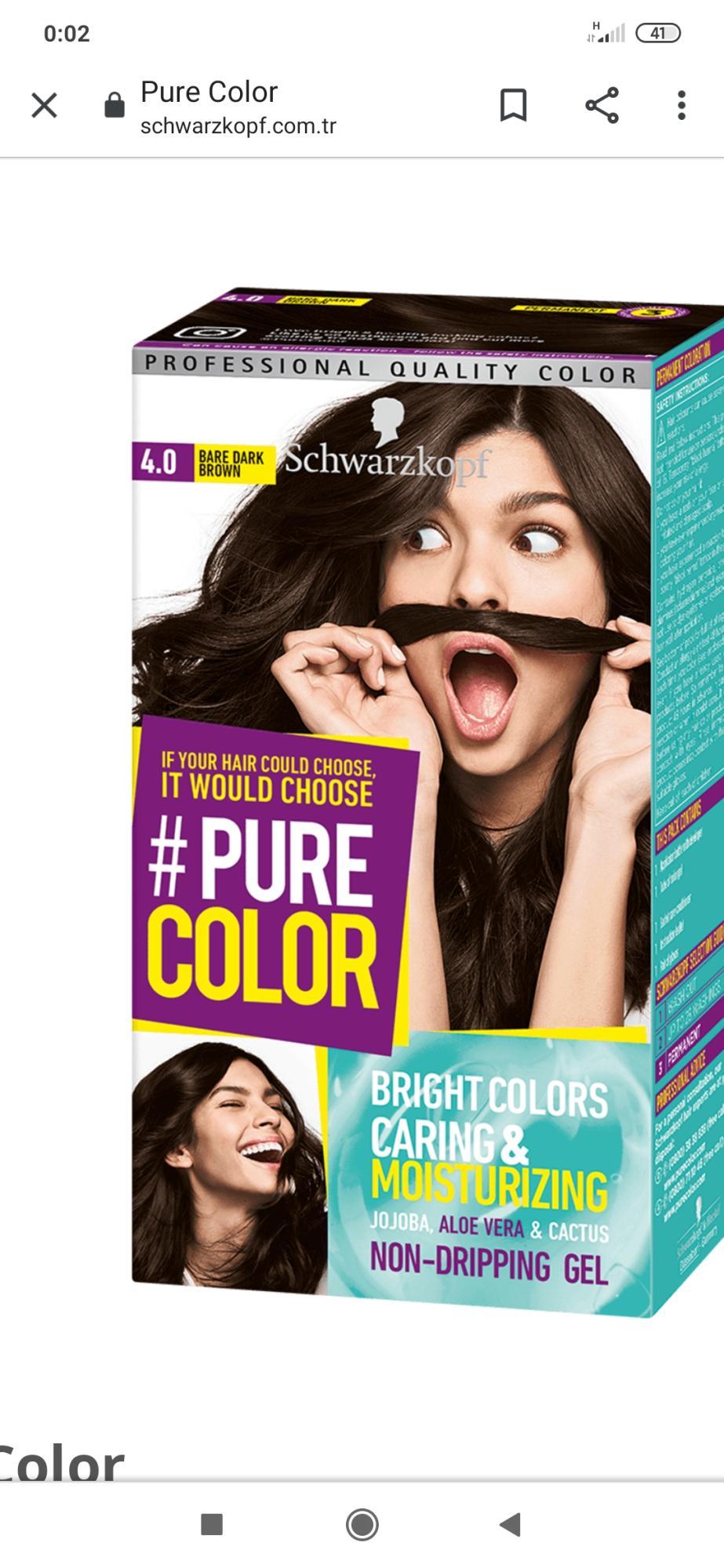 Pure Color Sac Boyasi Sikayetleri Sikayetvar