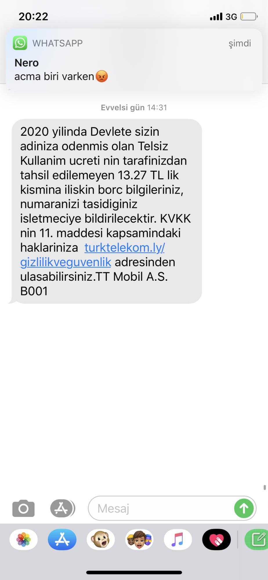 Vodafone Telsiz Kullanım Ücreti - Şikayetvar