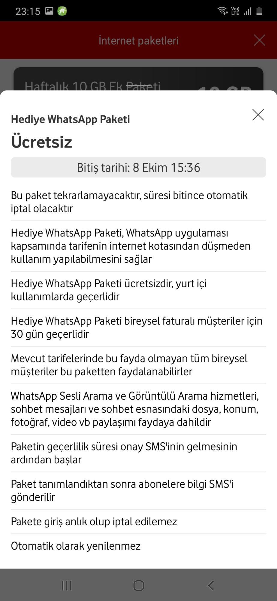 Vodafone Kota Aşımı Şikayetleri - Şikayetvar
