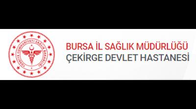 Bursa Çekirge Devlet Hastanesi Logo