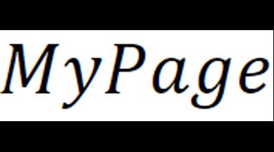 My Page Butik Logo