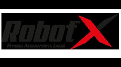 RobotX Hybrid Alexandrite Laser Logo