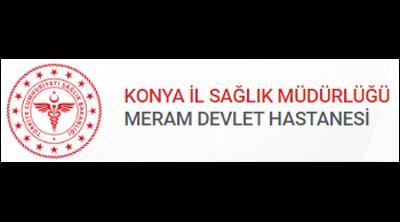 Meram Eğitim ve Araştırma Hastanesi Logo