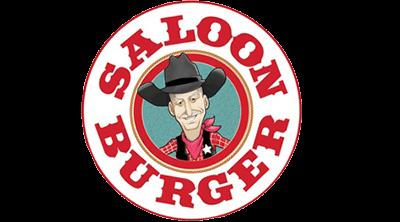 Saloon Burger Logo