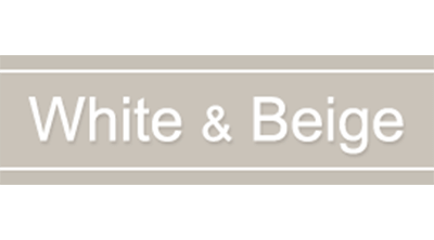 White & Beige Logo