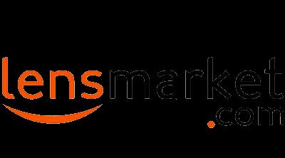 Lensmarket.com Logo