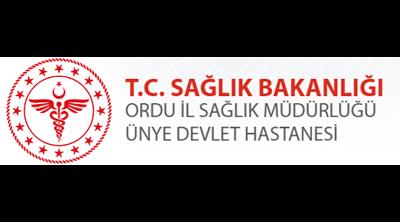 Ünye Devlet Hastanesi Logo